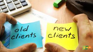 how to find more clients