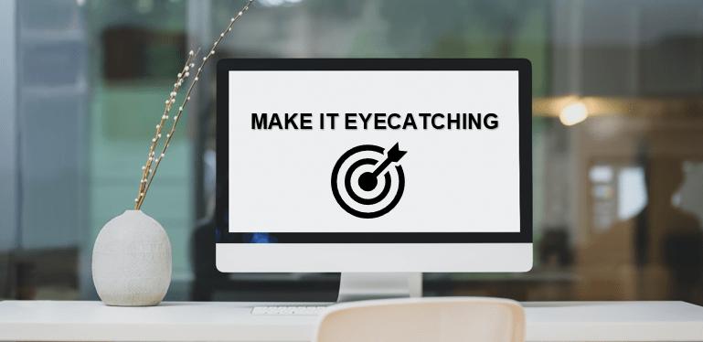 eyecatching ads