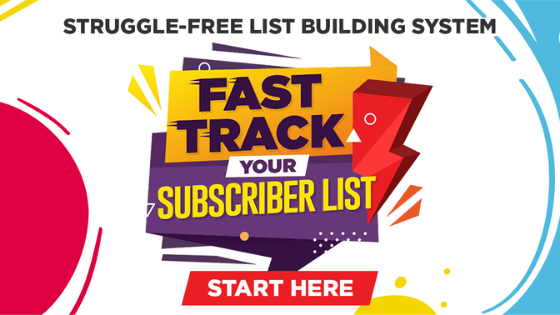 fast track your subscriber list