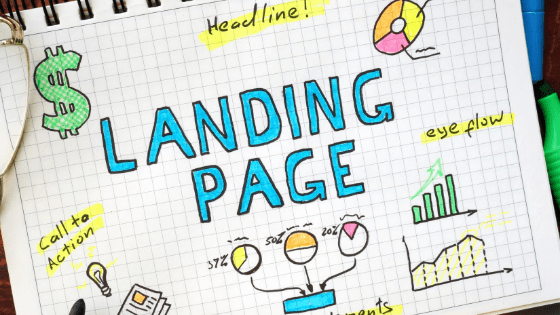 how to create a landing page in WordPress