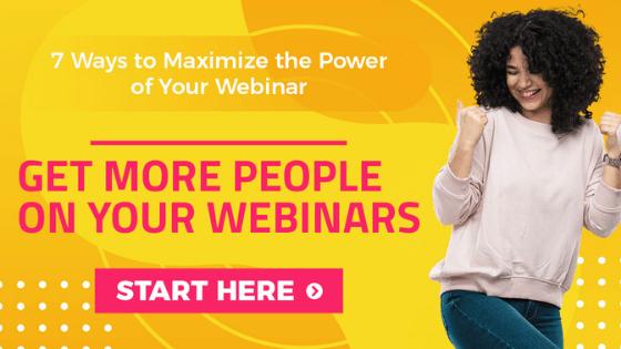 how to make a good webinar presentation